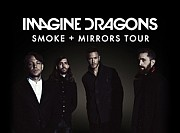 """Imagine Dragons"" turas ""Smoke + Mirrors"" 2016-01-31, 19:00 val. Siemens arena, Vilnius"