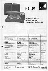 Dual HS 120 serviso instrukcija [de, en, fr]
