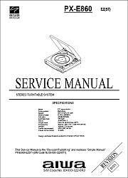 Aiwa PX-E860 serviso instrukcija [en]