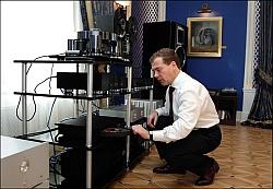 Dmitrijus Medvedevas - audiofilas!